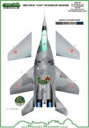 MiG-29UB 4105 Stanislaw Skalski 1:48