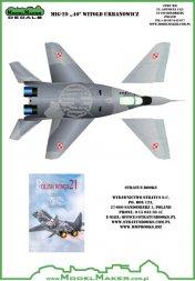 MiG-29 40 Witold Urbanowicz 1:48