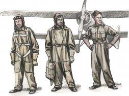 CMK Czechoslovak pre-WWII pilots 1:72