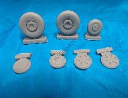 MiG-21 MF/BIS/UM wheels 1:32