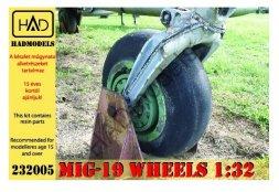 MiG-19 Wheels 1:32