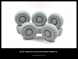 Miniarm 9A52-2 Smerch-M Wheels set Vi-203 (late) 1:35