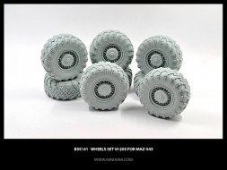 Miniarm MaZ-543 Wheels set Vi-203 1:35