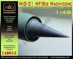 MiG-21 MF/Bis Mach-cone 1:48