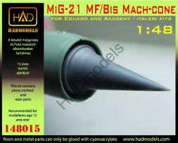 Hadmodels MiG-21 MF/Bis Mach-cone 1:48