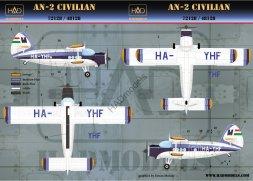 An-2 Malev - HA-YHF 1:48