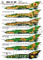 Hadmodels MiG-21MF Fishbed 1:72