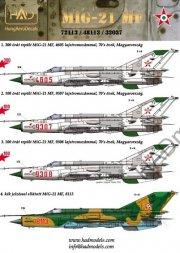 MiG-21MF - Hungarian Air Force 1:72