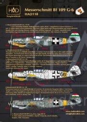 Hadmodels Bf 109G-6 1:72