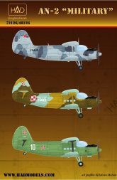 Hadmodels An-2 - Military service 1:72