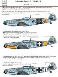 Bf 109G-14 1:72