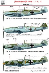 Hadmodels Bf 109E part.2 1:72