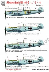 Hadmodels Bf 109E part.1 1:72