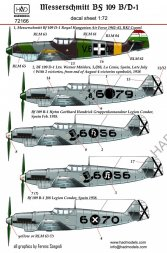 Hadmodels Bf 109B/D 1:72