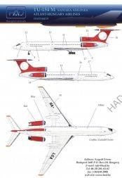 Tu-154M - SAMARA 1:144