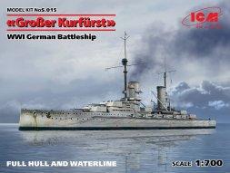 ICM SMS Großer Kurfürst (1913) 1:700