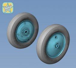 I-15bis, I-16, I-153 wheels 1:72