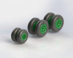 An-10, An-12 wheels set Type 2 1:72