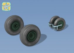 MiG-29 early & late wheels - No mask Serie 1:72
