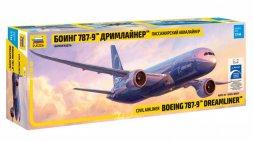 Zvezda Boeing 787-9 - Dreamliner 1:144