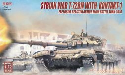 T-72BM with Kontakt-1 (Syrian 2016) 1:72