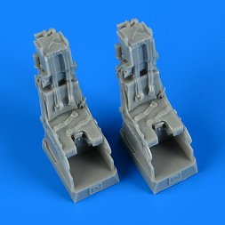 Quickboost F-14D Tomcat ejection seats with safety belts 1:72