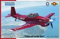 Boulton Paul Balliol - Civilian & Foreign Users 1:72
