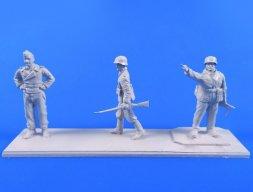 CMK German WWII Wermacht Soldiers 1944 1:72