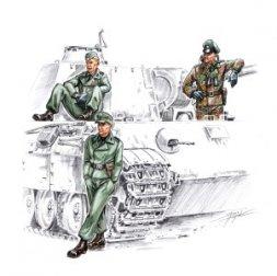 CMK German Waffen SS tankers 1:72