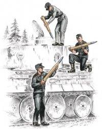 CMK German armourers for Tiger I 1:72