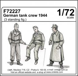 CMK German tank crew 1944 1:72