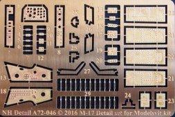 M-17 Detail Set for Modelsvit 1:72