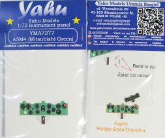 Yahu A5M4 (Mitsubishi green) - JustStick 1:72