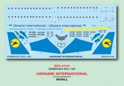 Embraer EMB-190 - Ukraine International 1:144