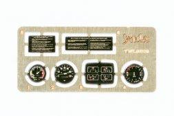 Zil-131 instument panel 1:35