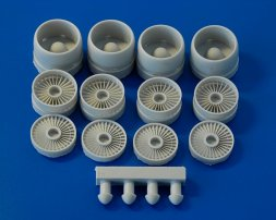 D-30KP turbojet engine intake for Il-76/ A-50 1:72