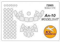 An-10 mask for Modelsvit 1:72