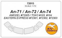 An-71/72/74 mask 1:72