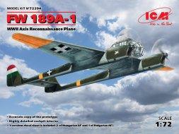 Focke-Wulf FW 189A-1 - Axis Service 1:72