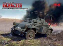 Sd.Kfz.223 - German Radio Communication Vehicle 1:48