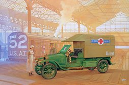 Vauxhall Type D Ambulance 1:72