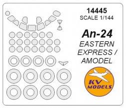 An-24 mask for Amodel/ E.E. 1:144
