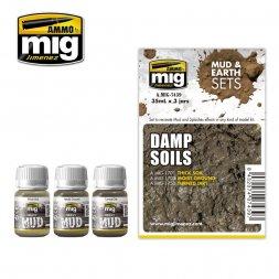 AMMO of MiG - Damp Soils