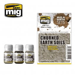 AMMO of MiG - Churned Earth Soils