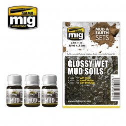 AMMO of MiG - Glossy Wet Mud Soils