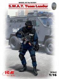 ICM S.W.A.R. Team Leader 1:16