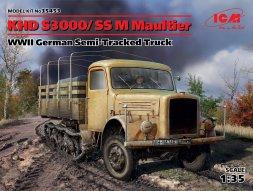 ICM Klöckner-Deutz S 3000 / SSM Maultier (Sd.Kfz.3) 1:35