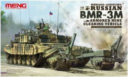 Meng BMR-3M - Russian Mine Cleaning Vehicle 1:35