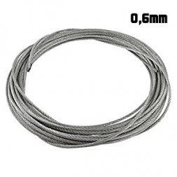 RB model steel wire rope 0,6mm x 5m