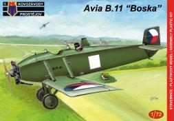 Avia B.11 - Boska Military 1:72